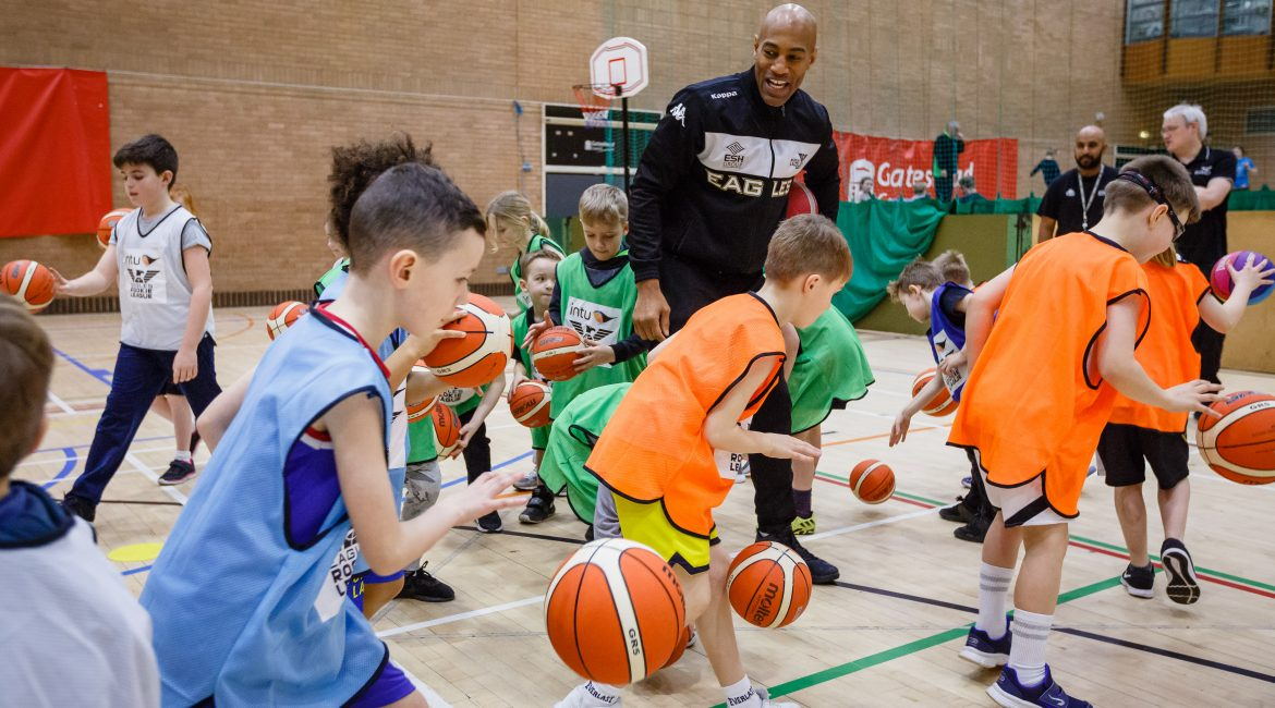 intu Rookie League coaching with Fab Flournoy