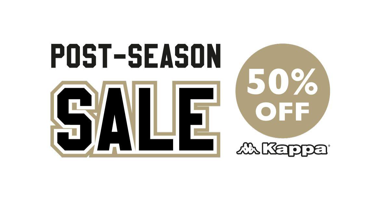 aab5a677cbda Half-Price Kappa Post-Season Sale Now On – Newcastle Eagles