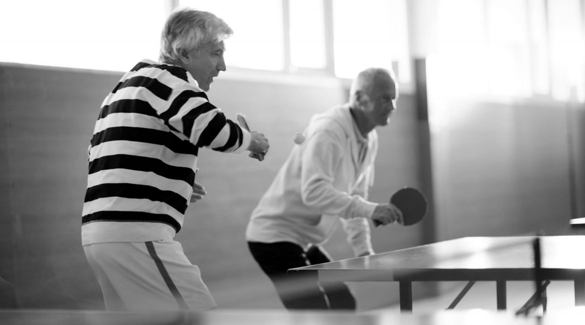 Active Ageing Table Sport