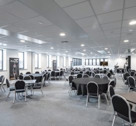 2019 Post-Build Arena Hospitality Suite by Esh Group Photographer