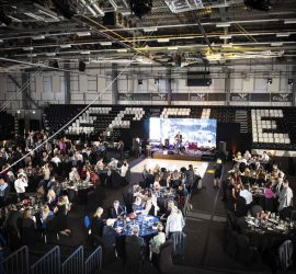 May 2019 saw us host our first end of season awards dinner, on the BBL court with over 300 guests.
