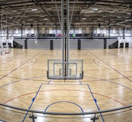 2019 Post-Build Arena Courts by Esh Group Photographer