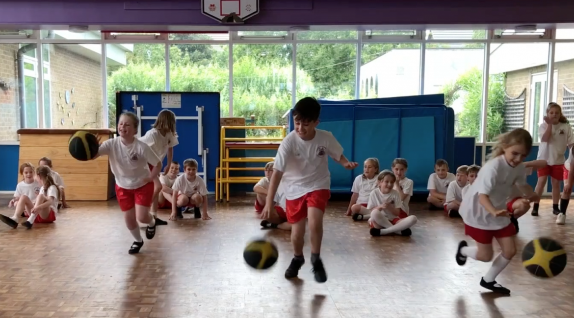ECF Promo Video for CIPD Dinner June 2019 Hoops4Health Delivery Screenshot 1