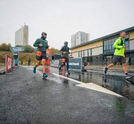 2020-10-03 Ultra North Run at the Arena Car Park