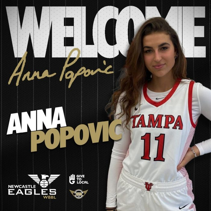 Player Signing - Anna Popovic Welcome