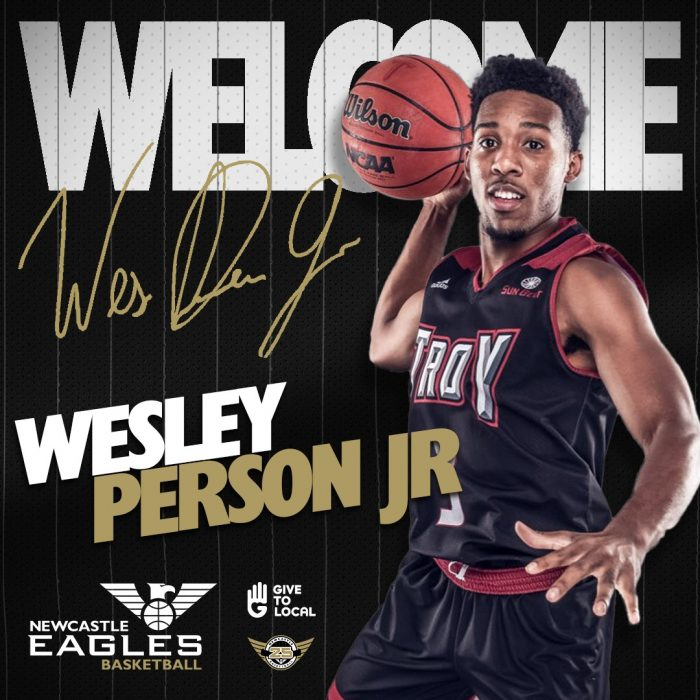 Player Signing - BBL - Wesley - Welcome
